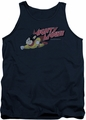 Mighty Mouse tank top Mighty Retro mens navy