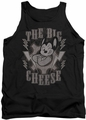 Mighty Mouse tank top The Big Cheese mens black
