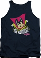 Mighty Mouse tank top The Mightiest mens navy