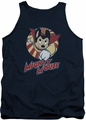 Mighty Mouse tank top The One The Only mens navy