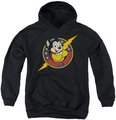 Mighty Mouse youth teen hoodie Mighty Hero black