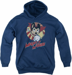 Mighty Mouse youth teen hoodie The One The Only navy