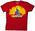 Mike Tyson Mysteries Jumping Keyart mens t-shirt pre-order