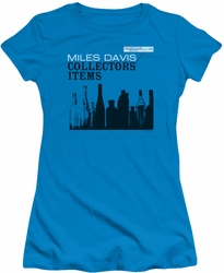 Miles Davis juniors t-shirt Collector's Items turquoise