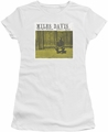 Miles Davis juniors t-shirt Miles And Milt white