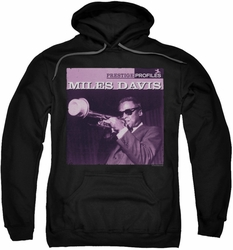 Miles Davis pull-over hoodie Prince adult black