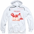 Miles Davis pull-over hoodie The New Sounds adult white