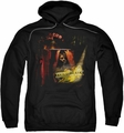Mirrormask pull-over hoodie Big Top Poster adult black