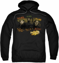 Mirrormask pull-over hoodie Hungry adult black