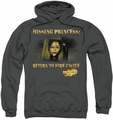 Mirrormask pull-over hoodie Missing Princess adult charcoal