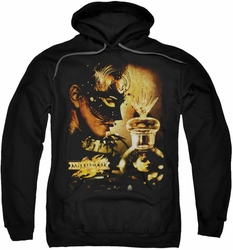 Mirrormask pull-over hoodie Trapped adult black