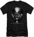 Mirrormask slim-fit t-shirt Mask mens black