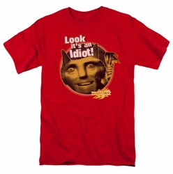 Mirrormask t-shirt Riddle Me This mens red