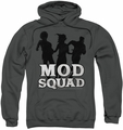 Mod Squad pull-over hoodie Mod Squad Run Simple adult charcoal