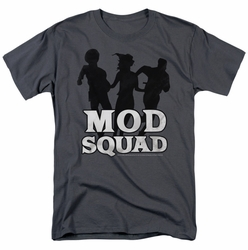 Mod Squad t-shirt Mod Squad Run Simple mens charcoal