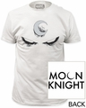 Moon Knight white eyes fitted jersey tee pre-order