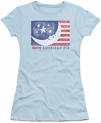 Moon Pie juniors t-shirt American Pie light blue