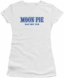 Moon Pie juniors t-shirt Eat Mo Pie White