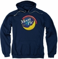 Moon Pie pull-over hoodie Current Logo adult navy