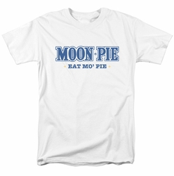 Moon Pie t-shirt Eat Mo Pie mens White