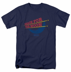Moon Pie t-shirt Reach For The Moon mens Navy