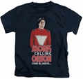 Mork & Mindy kids t-shirt Come In Orson navy
