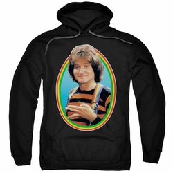 Mork & Mindy pull-over hoodie Mork adult black