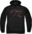 Mortal Kombat X pull-over hoodie Scorpion Lunge adult black