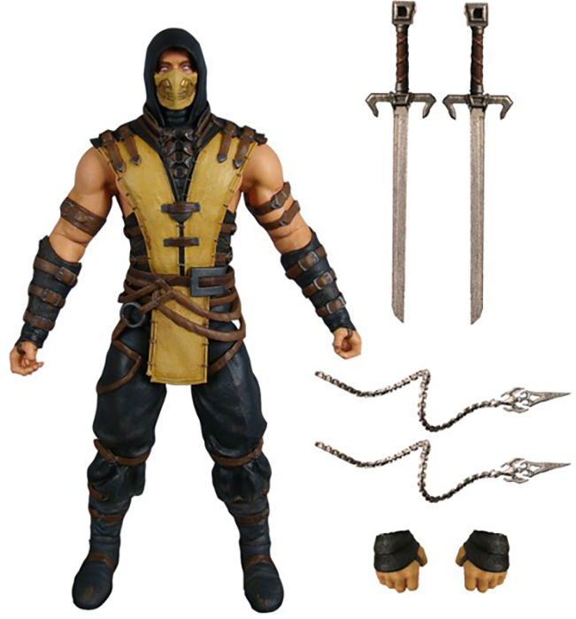 mortal kombat x scorpion 6 inch action figure