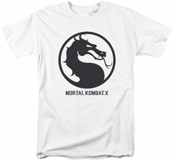 Mortal Kombat X t-shirt Seal mens white