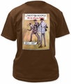 Mott the Hoople t-shirt All the Young Dudes Traditional Fit 18/1 mens chocolate pre-order