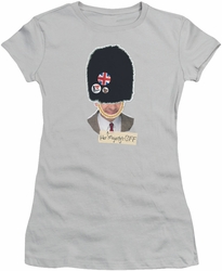 Mr Bean juniors t-shirt BFF silver