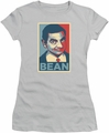 Mr Bean juniors t-shirt Poster silver