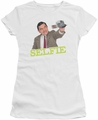 Mr Bean juniors t-shirt Selfie white
