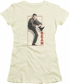 Mr Bean juniors t-shirt Tying Shoe cream