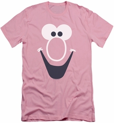 Mr Bubble slim-fit t-shirt Bubble Face mens pink