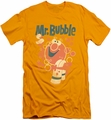 Mr Bubble slim-fit t-shirt Towel And Duckie mens gold