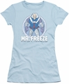 Mr Freeze juniors t-shirt DC Comics light blue