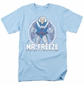 Mr Freeze t-shirt DC Comics mens