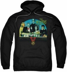 Munsters pull-over hoodie 50 Year Potion adult black