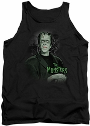 Munsters tank top Man Of The House mens black