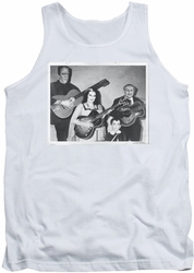 Munsters tank top Play It Again mens white