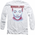 Murder In The First long-sleeved shirt Don'T Talk white