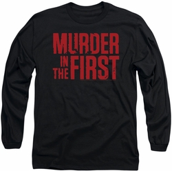 Murder In The First long-sleeved shirt Stacked Logo black