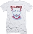 Murder In The First slim-fit t-shirt Don'T Talk mens white
