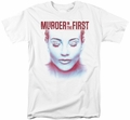 Murder In The First t-shirt Don't Talk mens white