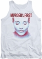 Murder In The First tank top Don't Talk adult white