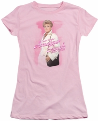 Murder She Wrote juniors t-shirt Amateur Sleuth pink