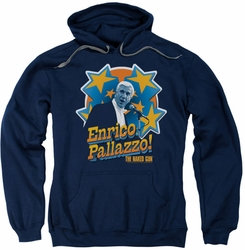 Naked Gun pull-over hoodie Its Enrico Pallazzo adult navy
