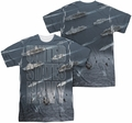 Navy mens full sublimation t-shirt Fleet